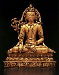 Akshobhya Buddha: (Sambhogakaya Ornaments)