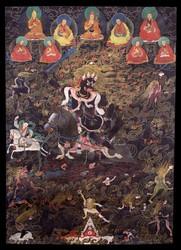 Shri Devi (Buddhist Protector): Dorje Rabtenma