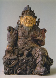 Direction Guardian (Buddhist Deity): Virupaksha (West)