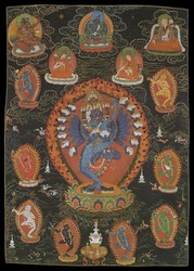 Hevajra (Buddhist Deity): Margapala Instruction Lineage