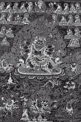 Yamari, Krishna (Buddhist Deity): Drigung Tradition