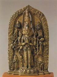 Avalokiteshvara (Bodhisattva & Buddhist Deity): (11 Faces)