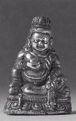 Jambhala (Buddhist Deity): Black (2 hands)