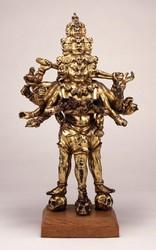 Trailokyavijaya (Buddhist Deity): (Three Legs)