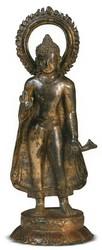 Shakyamuni Buddha: (Standing Sculpture)