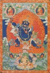 Vajrapani (Bodhisattva & Buddhist Deity): Krodha (Wrathful)