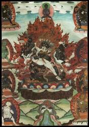 Mahakala (Buddhist Protector): (4 face - 16 hands)