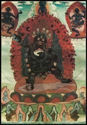Mahakala (Buddhist Protector): (1 face - 2 hands)