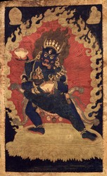 Vajrabhairava (Buddhist Deity): Sahaja Heruka (with consort)