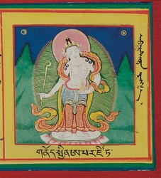 Aparajita: (One face, two arms)
