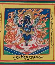 Mahakala (Buddhist Protector): Panjarnata (with Kila Body)