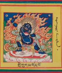 Mahakala (Buddhist Protector): Kartaridhara (Knife Holder)