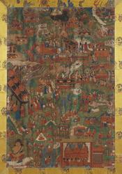 Shakyamuni Buddha: Life Story (Single Composition)