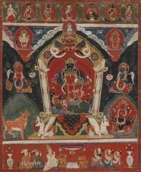 Manjushri (Bodhisattva & Buddhist Deity): Maharagavajra