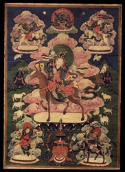Five Foremost Deities: Mo Lha