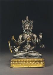 Ushnishavijaya (Buddhist Deity): (Single Aspect)