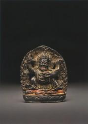 Mahakala (Buddhist Protector): Bernag Chen (Black Cloak)