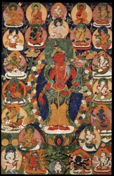 Avalokiteshvara (Bodhisattva & Buddhist Deity): Shristhikantha