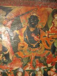 Manjushri (Bodhisattva & Buddhist Deity): Krishna (Black)
