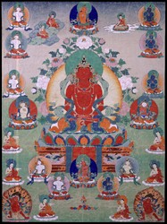 Amitabha/Amitayus Buddha: (Sarvadurgati Tantra, Speech)