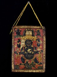 Mahakala (Buddhist Protector): Chaturmukha (Four-Faced)