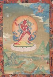 Vajrayogini (Buddhist Deity): (2 Legs Standing)