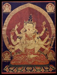 Guhyasamaja (Buddhist Deity): Akshobhyavajra