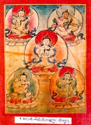 Initiation Cards: Tagsham Nuden Dorje Terma Cycle
