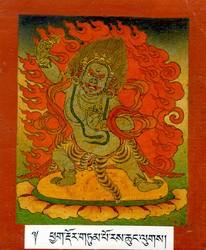 Vajrapani (Bodhisattva & Buddhist Deity): Chanda (Rechungpa Lineage)