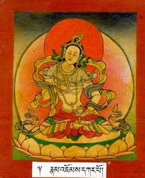 Vajravidarana (Buddhist Deity): White