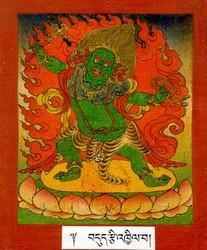 Amritakundali (Buddhist Deity): (Two Arms)