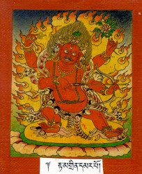 Hayagriva (Buddhist Deity): Red (4 hands)
