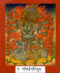 Yamari, Krishna (Buddhist Deity): Krishna (Black)