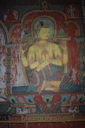 Avalokiteshvara (Bodhisattva & Buddhist Deity): (Retinue: Manidharin)