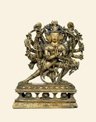 Humkara (Buddhist Deity): (Twenty-two Arms)