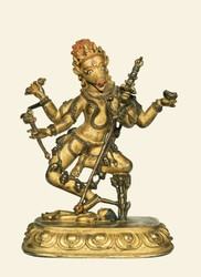 Vajrayogini (Buddhist Deity): Artasiddhi (Varahi)