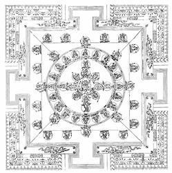 Yogambara (Buddhist Deity): (Three Faces, Six Arms)