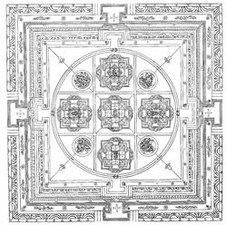 Vairochana Buddha: (Vajrashekara Tantra)