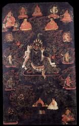 Hayagriva (Buddhist Deity): Black