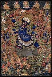 Yama Dharmaraja (Buddhist Protector): Four Armed