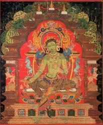 Tara (Buddhist Deity): Green