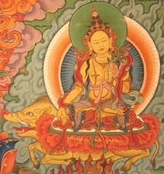 Marichi (Buddhist Deity): Ashokanta (1 face, 2 hands)