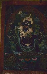 Vaishravana (Buddhist Protector): Blue
