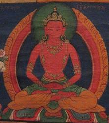 Avalokiteshvara (Bodhisattva & Buddhist Deity): Vajradharma, Red
