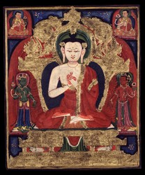 Buddha: (Vairochana-like Appearance)