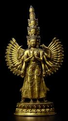 Avalokiteshvara (Bodhisattva & Buddhist Deity): (11 faces, 42 hands)