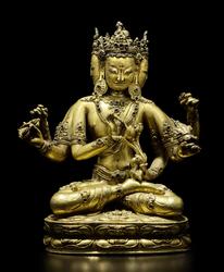 Guhyasamaja (Buddhist Deity): Avalokiteshvara