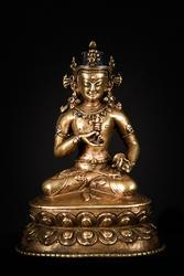 Vajrasattva (Buddhist Deity): White (solitary)