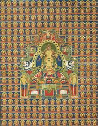 Ratnasambhava Buddha: (Peaceful Appearance)