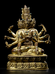 Kunzang Gyalwa Dupa (Bon Deity): (solitary)